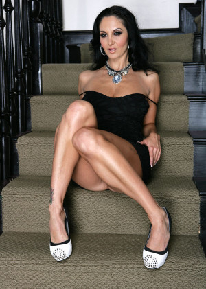 Ava Addams high heels, brunette